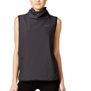 Nike Aerolayer Charcoal Gray Training Vest Sz S